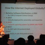 インターネットの本格的な始まりは間違いなく4.2BSD