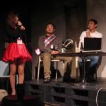 「ドラ娘」太田智美さん(写真左)