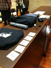 YAPC::Asia2012忘れ物コーナー。オゾンロックスの服をオジンロックスと言ってしまった・・・