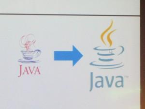 Javaロゴの変化