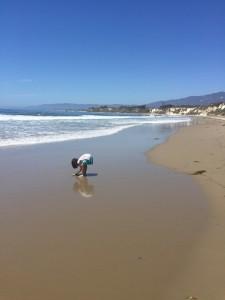 ゴリータというところのビーチ。この後服を着たまま海水浴になってしまいました。